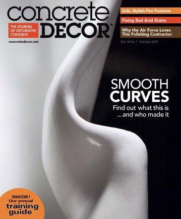 Vol. 14 Issue 7 - October 2014 Back Issues Concrete Decor Store