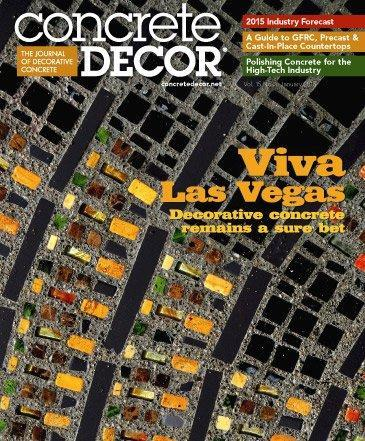 Vol. 15 Issue 1 - January 2015 Back Issues Concrete Decor Store