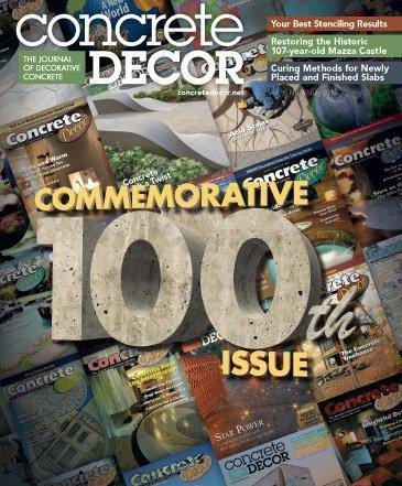 Vol. 15 Issue 5 - July 2015 Back Issues Concrete Decor Store