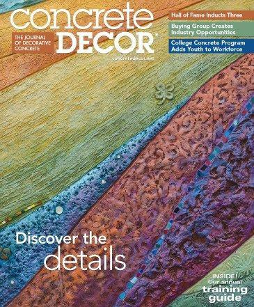Vol. 15 Issue 7 - October 2015 Back Issues Concrete Decor Store