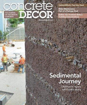 Vol. 16 Issue 5 - July 2016 Back Issues Concrete Decor Store