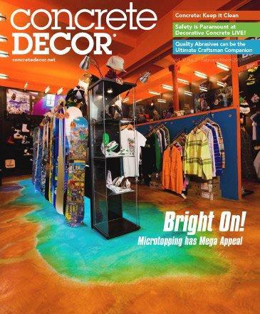 Vol. 17 Issue 2 - February/March 2017 Back Issues Concrete Decor Store