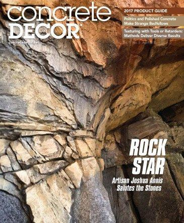 Vol. 17 Issue 3 - April 2017 Back Issues Concrete Decor Marketplace