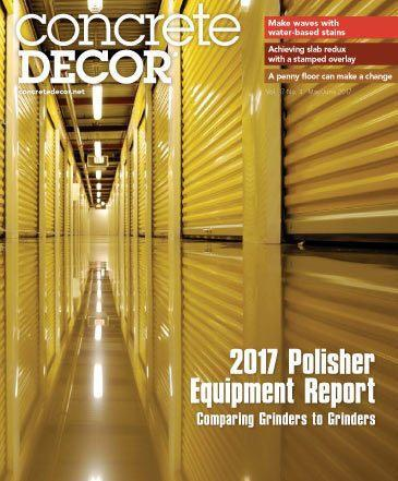 Vol. 17 Issue 4 - May/June 2017 Back Issues Concrete Decor Marketplace