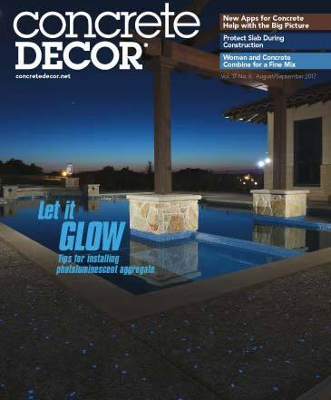 Vol. 17 Issue 6 - August/September 2017 - Concrete Decor Marketplace - Concrete Decor Marketplace