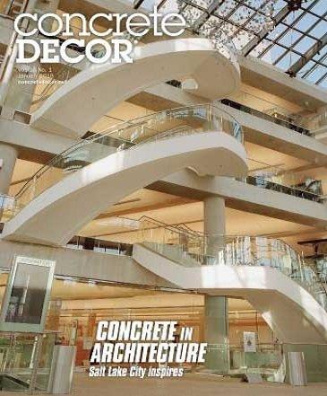 Vol. 18 Issue 1 - January 2018 - Concrete Decor Marketplace - Concrete Decor Marketplace