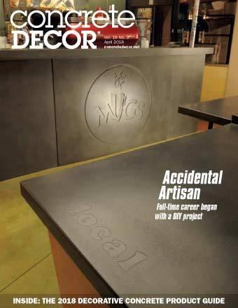 Vol. 18 Issue 3 - April 2018 - Concrete Decor Marketplace - Concrete Decor Marketplace