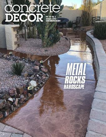 Vol. 19 Issue 1 - January 2019 - Concrete Decor Marketplace - Concrete Decor Marketplace