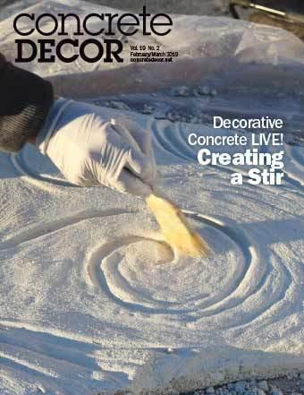 Vol. 19 Issue 2 - February/March 2019 - Concrete Decor Marketplace - Concrete Decor Marketplace