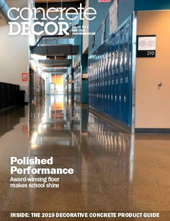 Vol. 19 Issue 3 - April 2019 - Concrete Decor Marketplace - Concrete Decor Marketplace