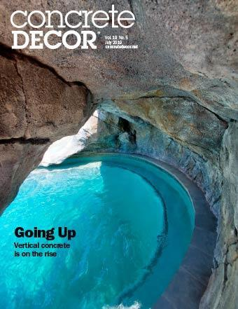 Vol. 19 Issue 5 - July 2019 Back Issues Concrete Decor Marketplace