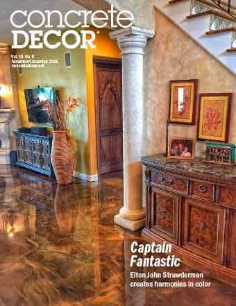 Vol. 19 Issue 8 - November/December 2019 Back Issues Concrete Decor Marketplace