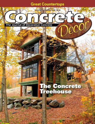 Vol. 8 Issue 1 - February 2008 Back Issues Concrete Decor Store
