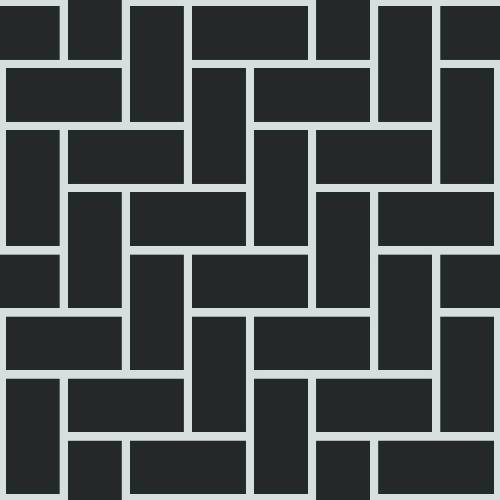 Herringbone Pattern - Adhesive-Backed Stencil supplies FloorMaps Inc.
