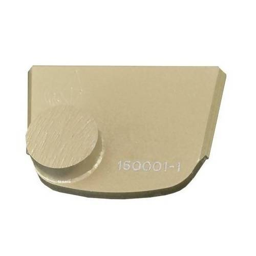 X-Series - Quick Change - Trapezoid One Button Tooling for Concrete Concrete Polishing HQ 6 Gold/Extra Hard