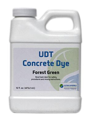 UDT Concrete Dye Ultra Durable Technologies Choose color
