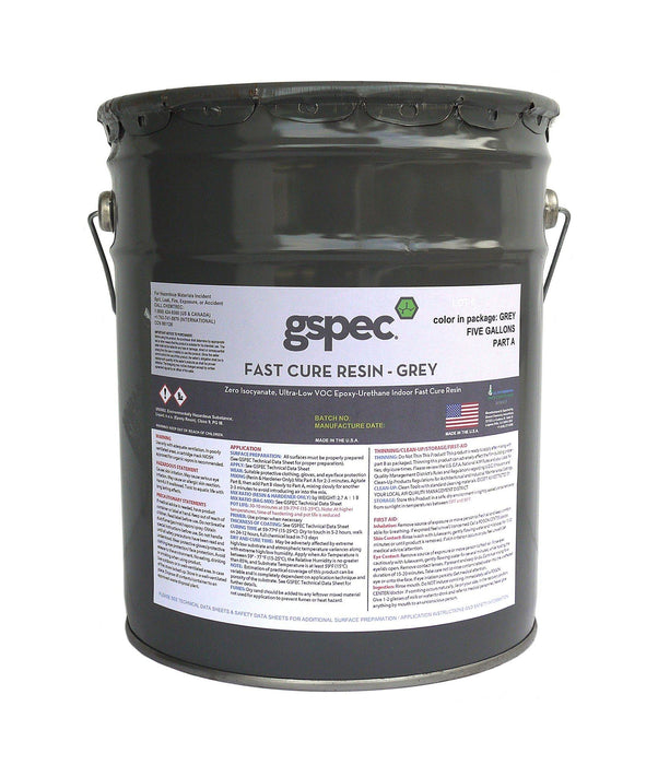 GSPEC Fast Cure Resin Concrete Decor Store Gray