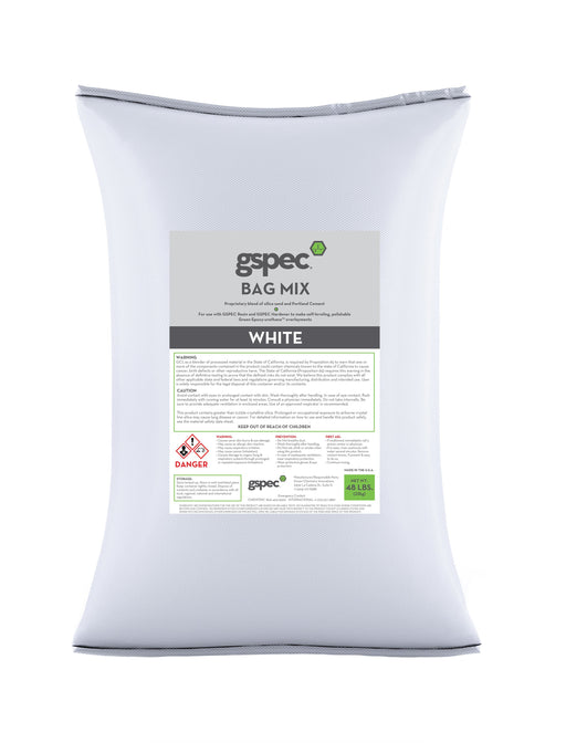 GSpec Bag Mix Concrete Decor Store White