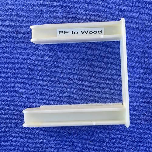 "Plastic to Wood End Connectors for Form Boards Concrete Decor Store 2"" x 4"""