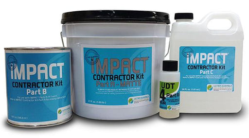 IMPACT® Water-based Sealer for Concrete and Terrazzo Ultra Durable Technologies Contractor Kit Matte 4-Hour