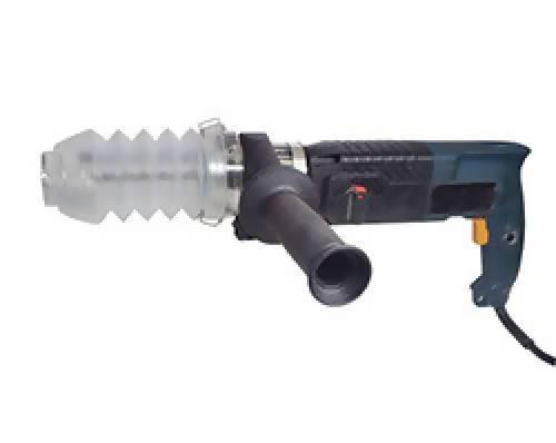 "Dust Muzzle for Hammer Drills - Bits under 6"" - Dust Collection Products - Concrete Decor Marketplace"