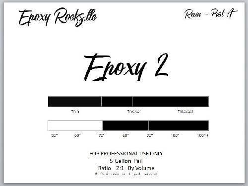 Epoxy 2 - Thickest Installation Formula (Part A)