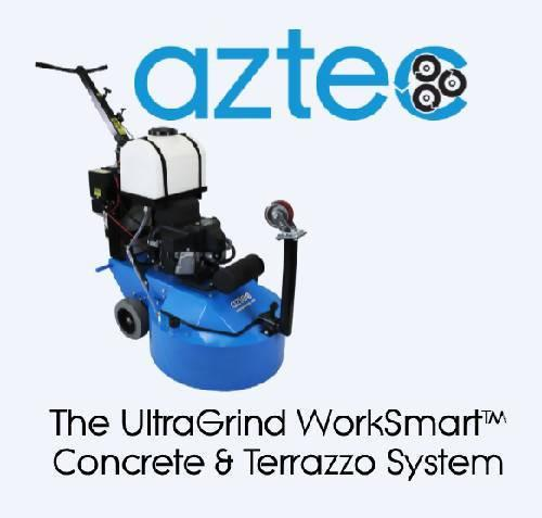 Aztec Ultragrind - Propane Concrete and Terrazzo Grinder & Polisher - Aztec Products - Concrete Decor Marketplace