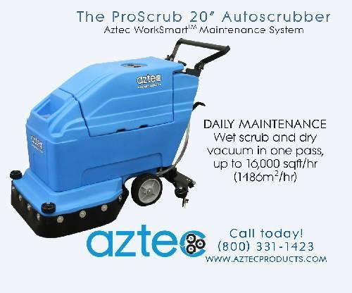 ProScrub 20 Autoscrubber with AGM BATTERY