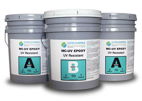 MC-UV Epoxy Ultra Durable Technologies 15 Gallon Kit