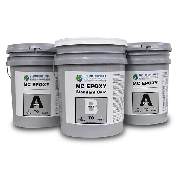 MC Epoxy (Standard and Fast Cure) Ultra Durable Technologies 15 Gallon Kit Standard Cure