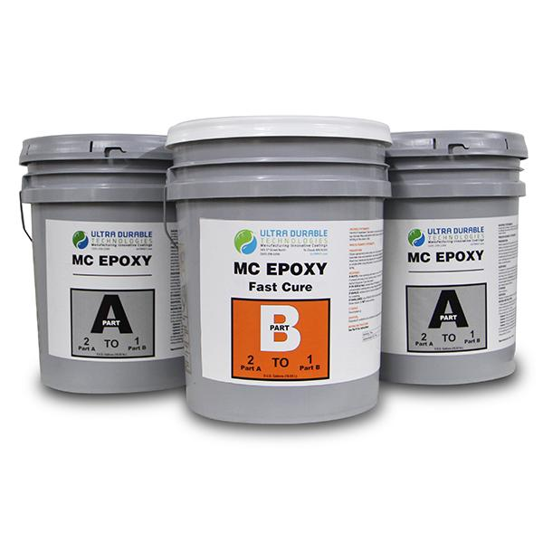 MC Epoxy (Standard and Fast Cure) Ultra Durable Technologies 15 Gallon Kit Fast Cure