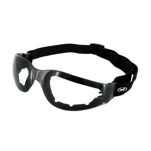 Ideal Safety Goggles with EVA Foam and Black Strap (Pack of 6) Global Vision Eyewear Corp. Clear