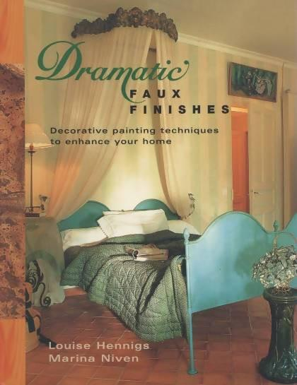 Dramatic Faux Finishes by Louise Hennings & Marina Niven Media Concrete Decor RoadShow