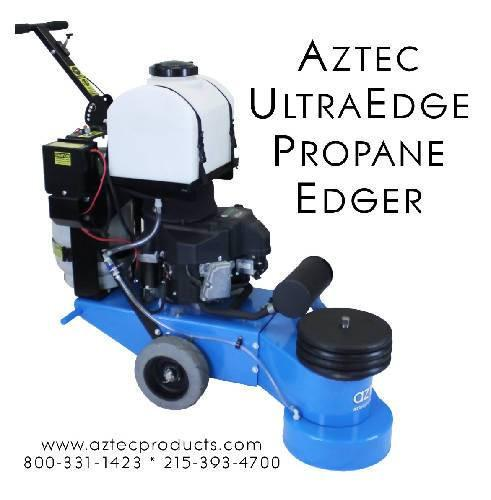 Aztec UltraEdge - Propane Concrete and Terrazzo Edger - Aztec Products - Concrete Decor Marketplace