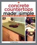 Concrete Countertops Made Simple by Fu-Tung Cheng (DVD & Book) Media Concrete Decor RoadShow