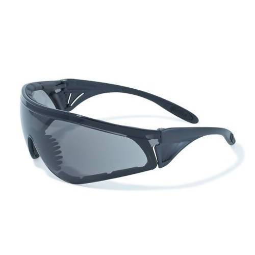 Rattlesnake Safety Glasses (Pack of 6) Global Vision Eyewear Corp. Smoke with Anti-Fog Coating