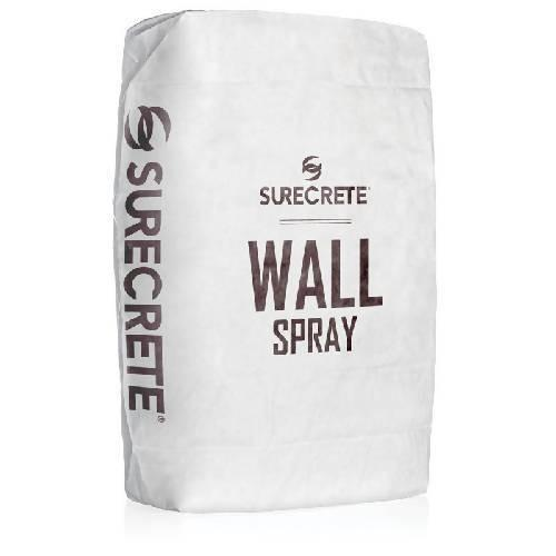 Spray Concrete Wall Overlay 40 Lb BDC Equipment & Rental