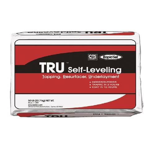 CTS Rapid Set TRU Natural - Self-Leveling Cement Colors