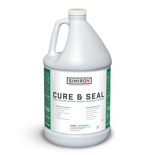 Cure & Seal Concrete Sealer - Clear Simiron 1 Gallon