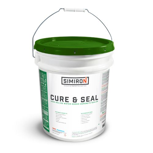 Cure & Seal Concrete Sealer - Clear Simiron 5 Gallons