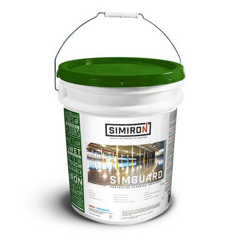 SIMGUARD - Gloss Concrete Polishing Sealer Simiron 5 Gallons
