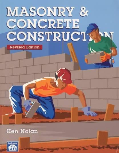 Masonry & Concrete Construction - Revised Edition by Ken Nolan - Concrete Decor RoadShow - Concrete Decor Marketplace