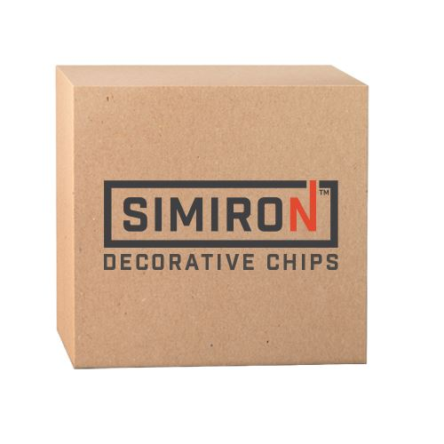 Decorative Chip Flakes - 50 lb Simiron Select a Color Blend
