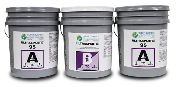 UltraSpartic 85, 95 & 100 Ultra Durable Technologies 15 Gallon Kit 95