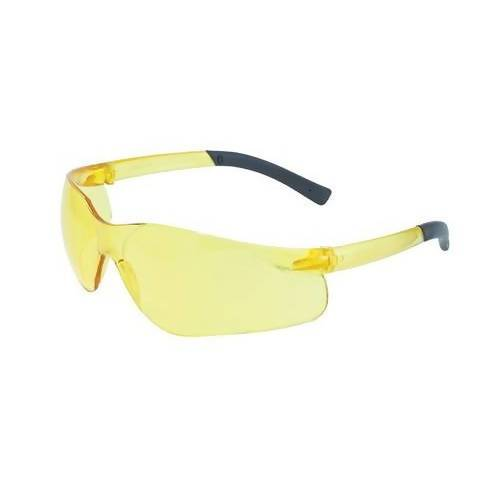 TurboJet with Matching Temples - Safety Glasses (Pack of 6) Global Vision Eyewear Corp. Yellow Tint