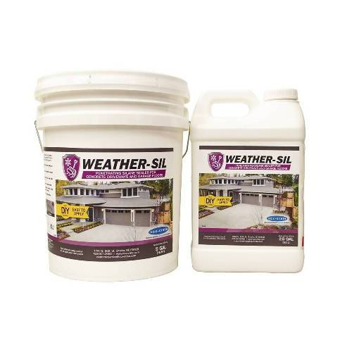 Weather-Sil - Water-based Penetrating Silane Sealer Nox-Crete Inc.