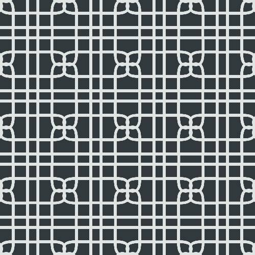 Knit Tile Pattern - Adhesive-Backed Stencil supplies FloorMaps Inc. Negative