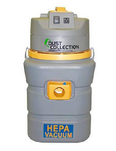 Dust Collection Products 13 Gallon Industrial HEPA Vacuum with 10 replaceable filter bags - Dust Collection Products - Concrete Decor Marketplace