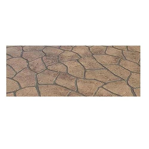 Bushrock - Concrete Stencil Roll Decorative Concrete Impressions
