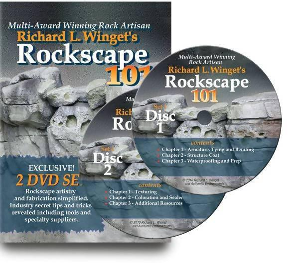 Richard Winget's Rockscape 101 - Concrete Decor RoadShow - Concrete Decor Marketplace